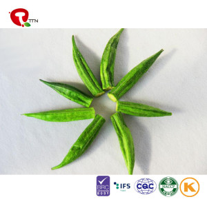 TTN Chinese Hot Sale Vacuum Fried Okra Vegetables