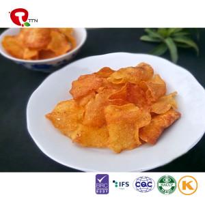 TTN Bulk Wholesale the Best Fried Sweet Potato Chips Nutritious Value Of Potato