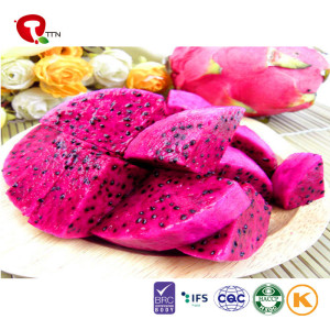 TTN Hot Sale Freeze Dried Dragon Fruit Food Of Pink Pitaya Smoothie
