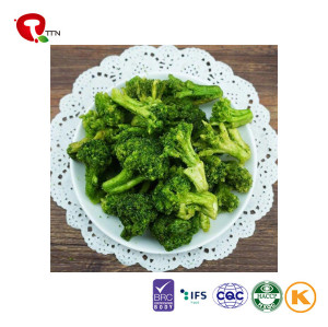 TTN China New Best Vacuum Fried Broccoli Vegetables With Nutrients Of Vegetables