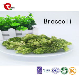 TTN China New Best Vacuum Fried Broccoli With Broccoli Nutrition