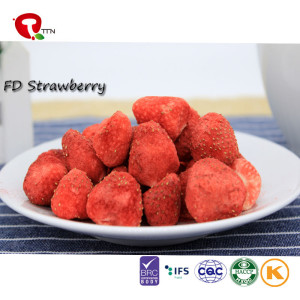 TTN  Strawberry Flavored Freeze Dried Fruit And Market Freeze Dried Strawberry Price