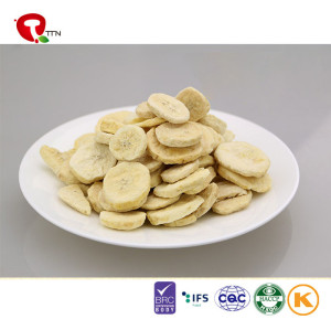 TTN Hot Sell Freeze Dried Banana Slices With Nutrients In Banana