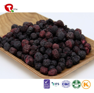 TTN  Chinese Suppliers Wholesale Tasty And Natural Freeze Dried Blueberry Pure Natural Quantity
