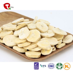 TTN Wholesale best Freeze Dried Banana Chips