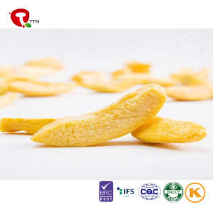 TTN Freeze Dried Yellow Peach Brittle And Freeze Dried Yellow Peach Fruit