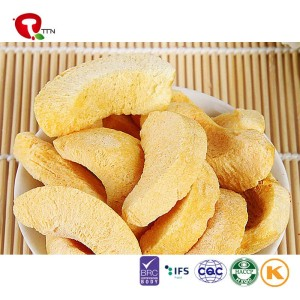TTN Wholesale Sales of frozen dried yellow peach fruit are delicious and nutritious