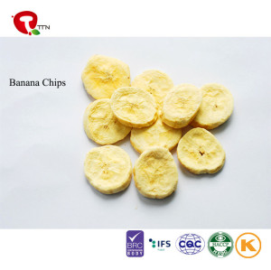 TTN  Wholesale freeze-dried banana and freeze dried banana market price