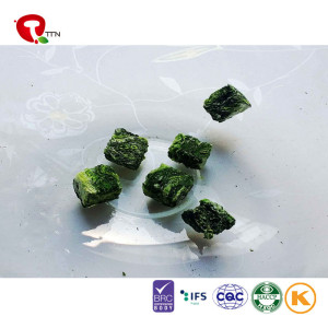 TTN China wholesale suppliers freeze-dried spinach spinach and nutritional value