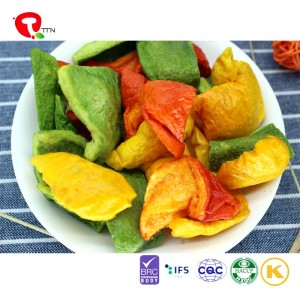 TTN sale of vacuum fried pepper for color pepper vitamins