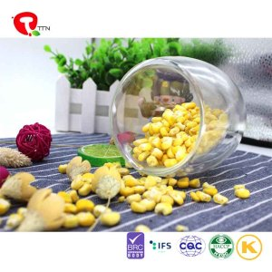 TTN Export wholesale freeze dried sweet corn flour As a snack in the evening