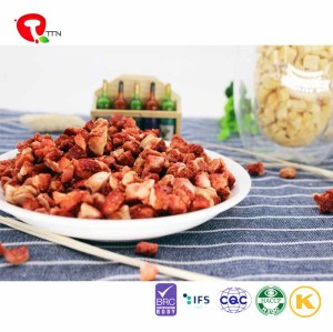 TTN freeze dried strawberry value for  strawberry to human body health