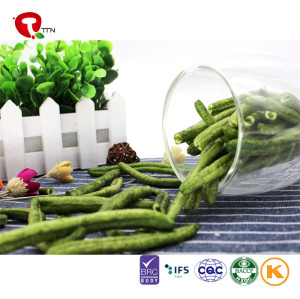 TTN wholesale vacuum fried vegetable green bean chips