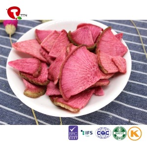 TTN 2018 Wholesale Vacuum Fried Radish  Nutritive Value