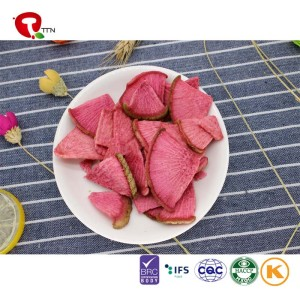 TTN radish nutritional value vacuum fried radish for radish use