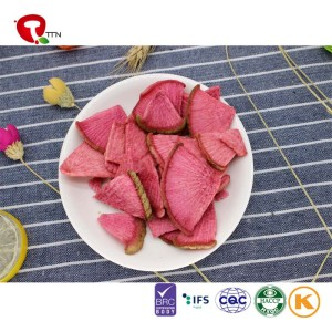 TTN radish nutritional value vacuum fried radish for radish use