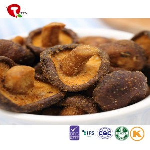 TTN  wholesale  vacuum fried mushroom with seasoning natural snacks