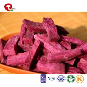 TTN sweet purple potato strip not add any pigment natural healthy nutrition