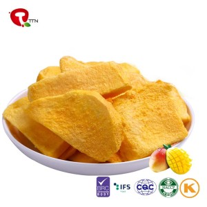 TTN Freeze dried fruit of 100% natural dried mango with mango nutritional value