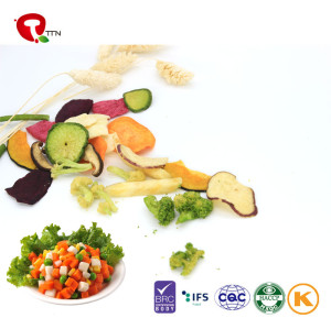 TTN Vacuum Fried Mix Vegetables Chips as Health Snack