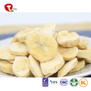 TTN  Best Freeze Dried banana for Bakery ,Restaurant ,Snacks