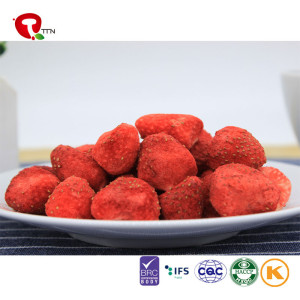 TTN Chinese dried strawberry dry fruit, bulk dried strawberries for sale