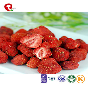TTN Hot Sale Healthy Fruit Snacks  dried strawberry chips