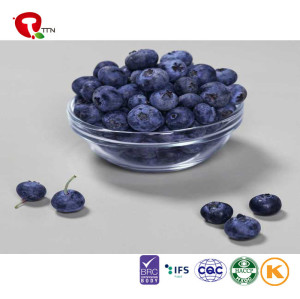 TTN  100% Natural Freeze Dried Whole Blueberries in FD Process