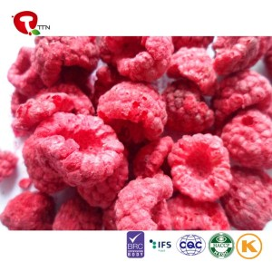 TTN Healthy Snack Food Dried Fruit Freeze Dried Raspberries With Free Sample