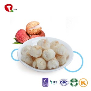 TTN 2018 Crop Tropical Fruits Crispy Snack Freeze Dried Lychee