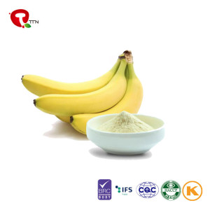 TTN Wholesale manufacturers 100%  Vacuum Freeze Dried Banana