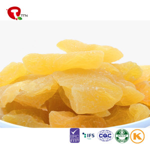 TTN Healthy Snack Fruits Freeze Dried Yellow Peach Dried