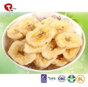 TTN  Dried Banana Slices frozen Banana chips