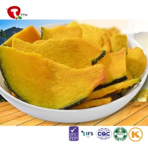 TTN Natural Flavor&Taste Freeze Dried Pumpkin
