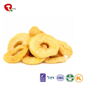 TTN Hot Sale Freeze Dried Red/Green Apple Chips For Apple Ring Price