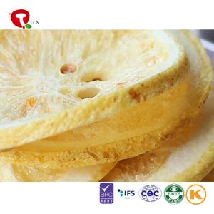 TTN 2018 Wholesale Sale Freeze Dried Lemon Custard Slice