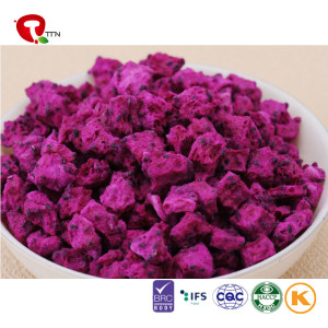 TTN FD Drying Crispy Chips Freeze Dried Dragon Fruits