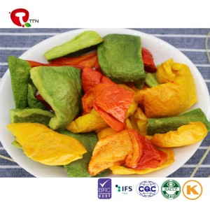 TTN  Bulk  Capsicum Vacuum Packed Color Bell Pepper