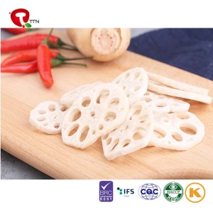 TTN Export Standard Competitive Price Root Vegetable Vacuum Fried Lotus Root