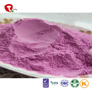 TTN Healthy Food Chinese Dried Food Freeze Dried Purple Sweet Potato Powder