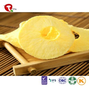 TTN  Manufacturer Sale Freeze Dried Apple  With Good Quality And Sweet Apple Slices