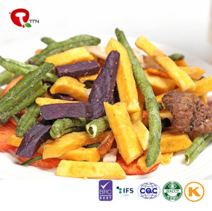 TTN Wholesale Mixed Freeze Dried Vegetables For Common Fruits And Vegetables List