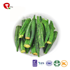 TTN 2018 Hot Sale Dried Okra Chips For Okra Calories Powder