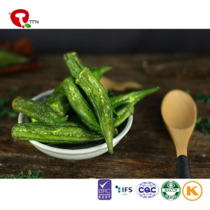 TTN Wholesale Bags Best Freeze Dried Okra For Instant Food