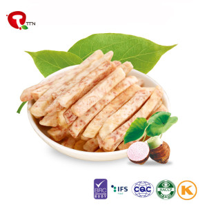 TTN 2018 Hot Sale Vacuum Fried Taro Chips Factory Direct Sale Cheap Price