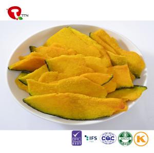 TTN  Factory Wholesale Natural Food Vacuum Fried Pumpkin Slices