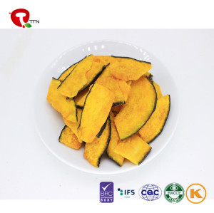 TTN 2018 Hot Sale Wholesale Vacuum Fried Yellow  Pumpkin