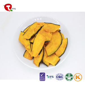TTN 2018 Hot Sale Wholesale Vacuum Fried Yellow  Pumpkin