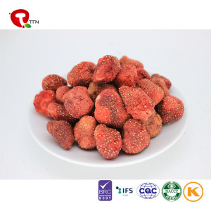 TTN 2018 Hot Sale Bulk Freeze Dried Strawberries Organic