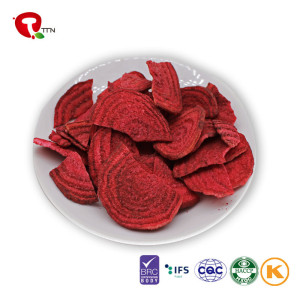 TTN Hot Products Listed Wholesale Vacuum Fried Beetroot Natural Health